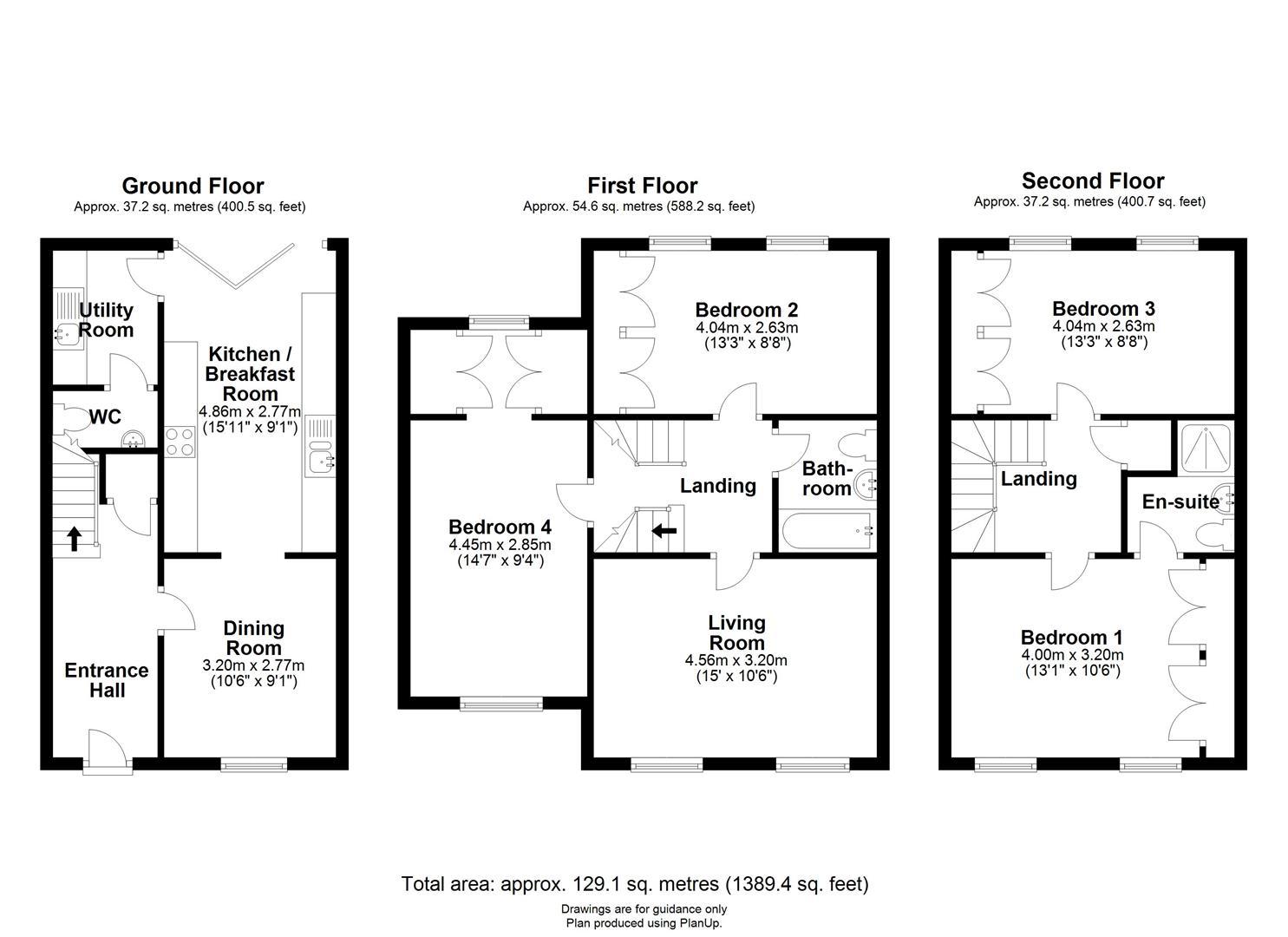 Floor plan Broad Street, Great Cambourne